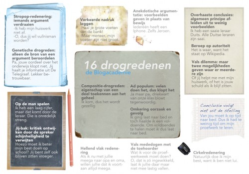 downloadable poster met drogredenen