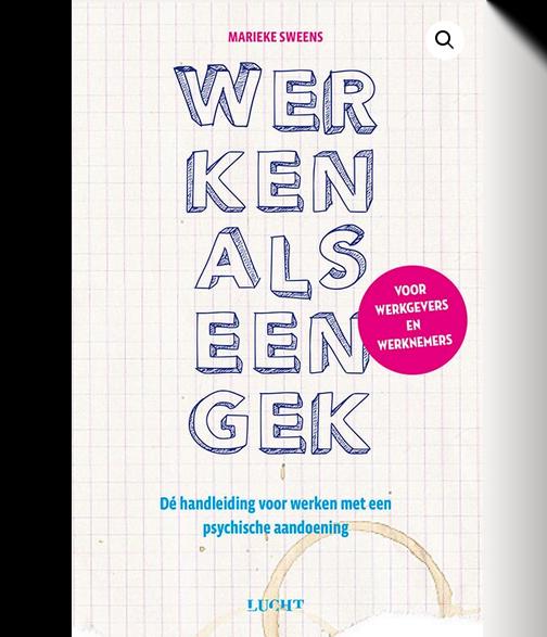Werken als een gek van Marieke Sweens: cover