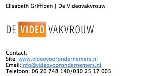 Emailhandtekening met logo