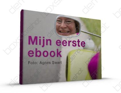 Ebook cover van demo Boxshot 4D