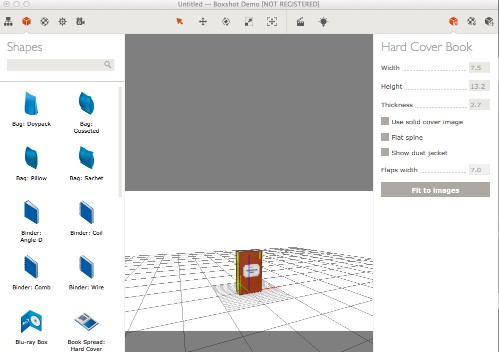 3D cover voor je ebook maken