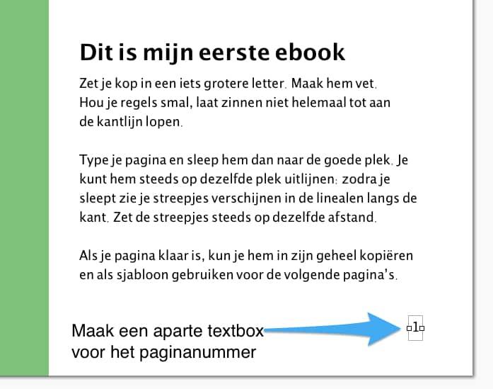 Zelf een ebook maken
