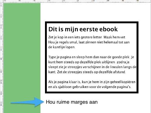 Ruime marges op je bladzijden
