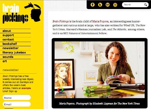 litarair blog van Maria Popova