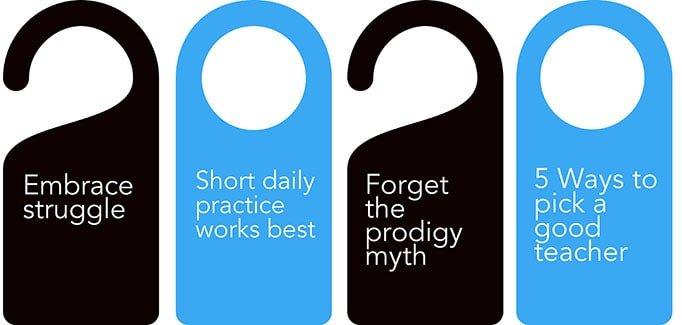 Tips voor Deep Practice