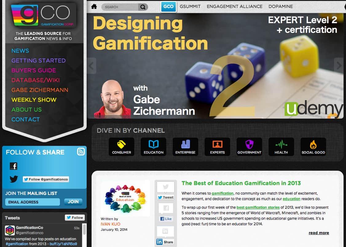 'Gamification.co: wat moet je eerst lezen?'