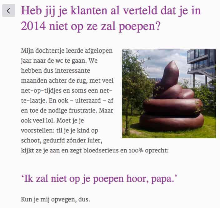 Blog van copywriter Arjan Jonker