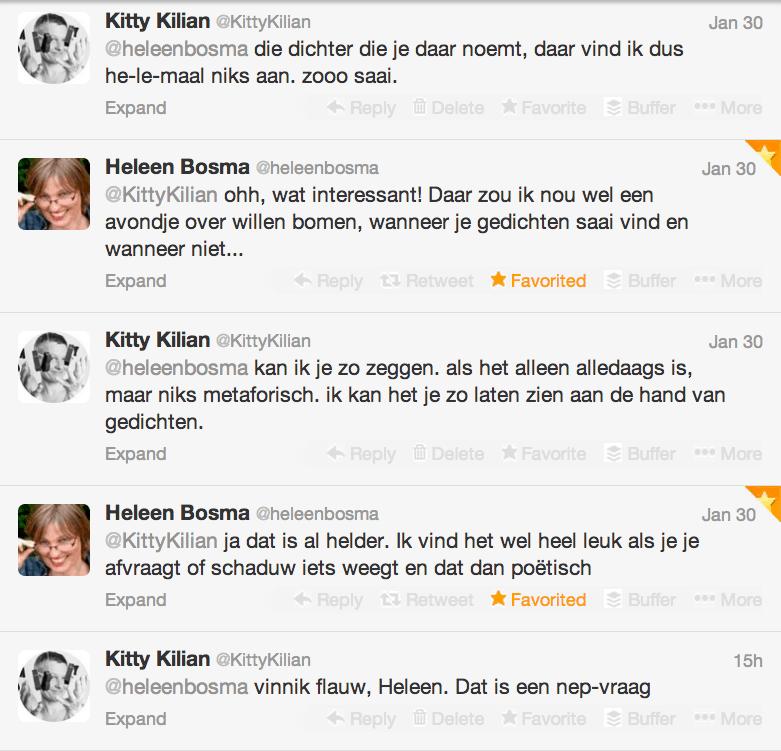 Helen Bosma is dichteres van Overijssel 2013-2015