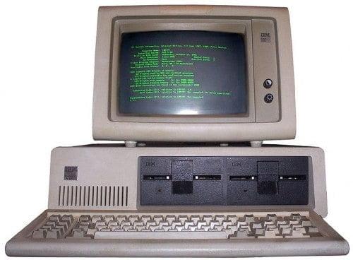 We kenden MS-dos. En we hadden maar liefst twéé floppy-disc drives.