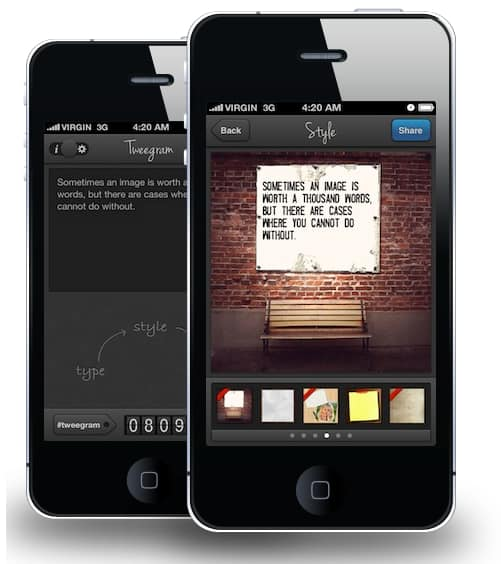 Tweegram - voor Android en iPhone