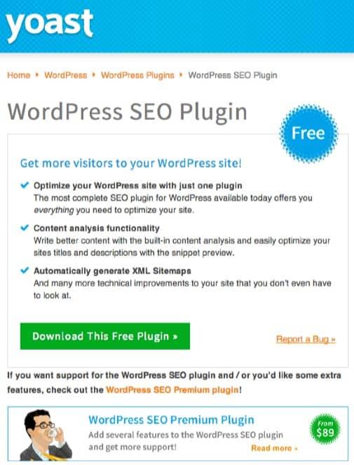 De WordPress SEO-plugin van Yoast. Joost de Valk.