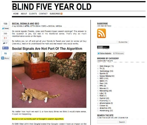 Blind 5 year old.com
