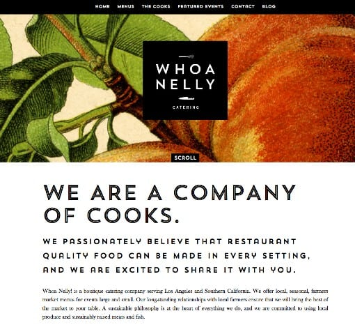'We are a company of cooks'