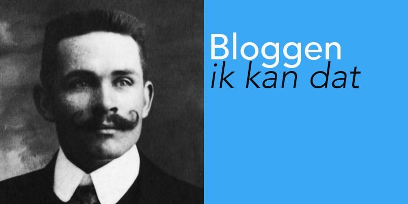 Waarom alle mannen heel goed kunnen bloggen