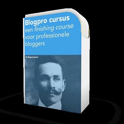 Blogcursus hoog niveau gevorderden