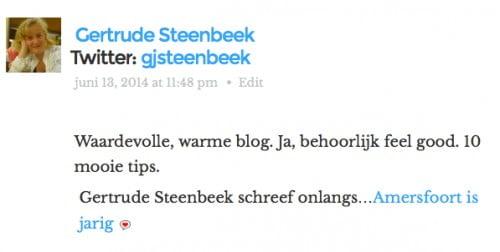 Feel-good blog, brrr