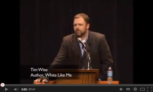 Tim Wise is een meester in het reframen van racisme