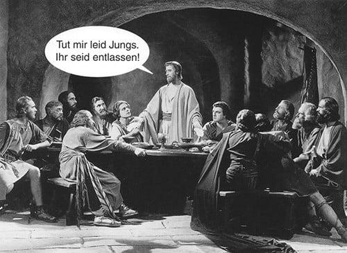 Hoe werkt een metafoor? Jezus ontslaat de apostelen