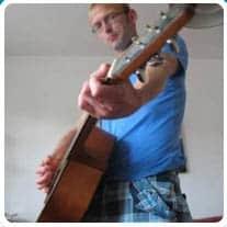 man en gitaar avatar