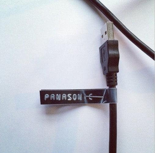 hoe hou je al je kabels uit elkaar