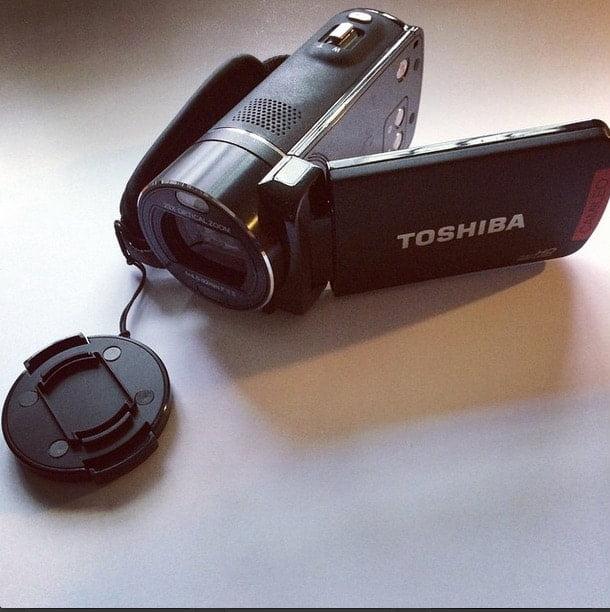 aangeschaft en vergeten: goedkope videocamera