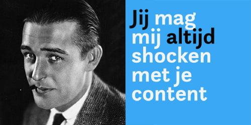 bloggen bij content shock