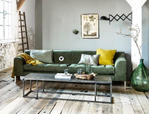 Een Geel Groen Interieur. Amazing Groene Plaids Als With Een Geel ...