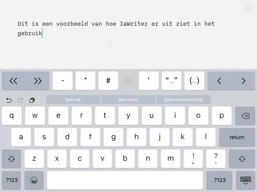goed programma om te schrijven op tablet