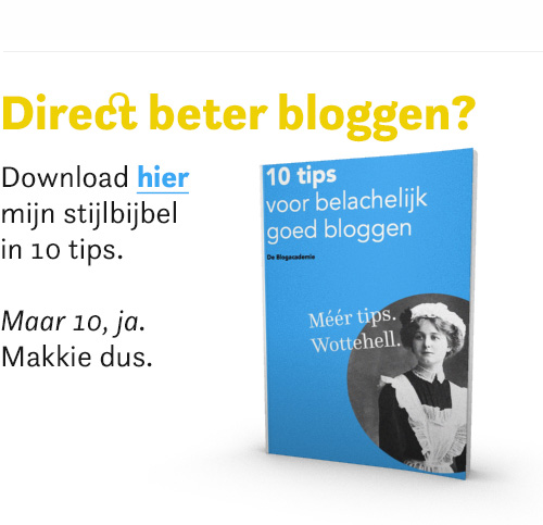 10 tips blogtraining