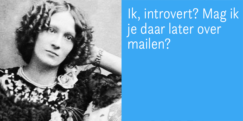 bloggen en introvertie