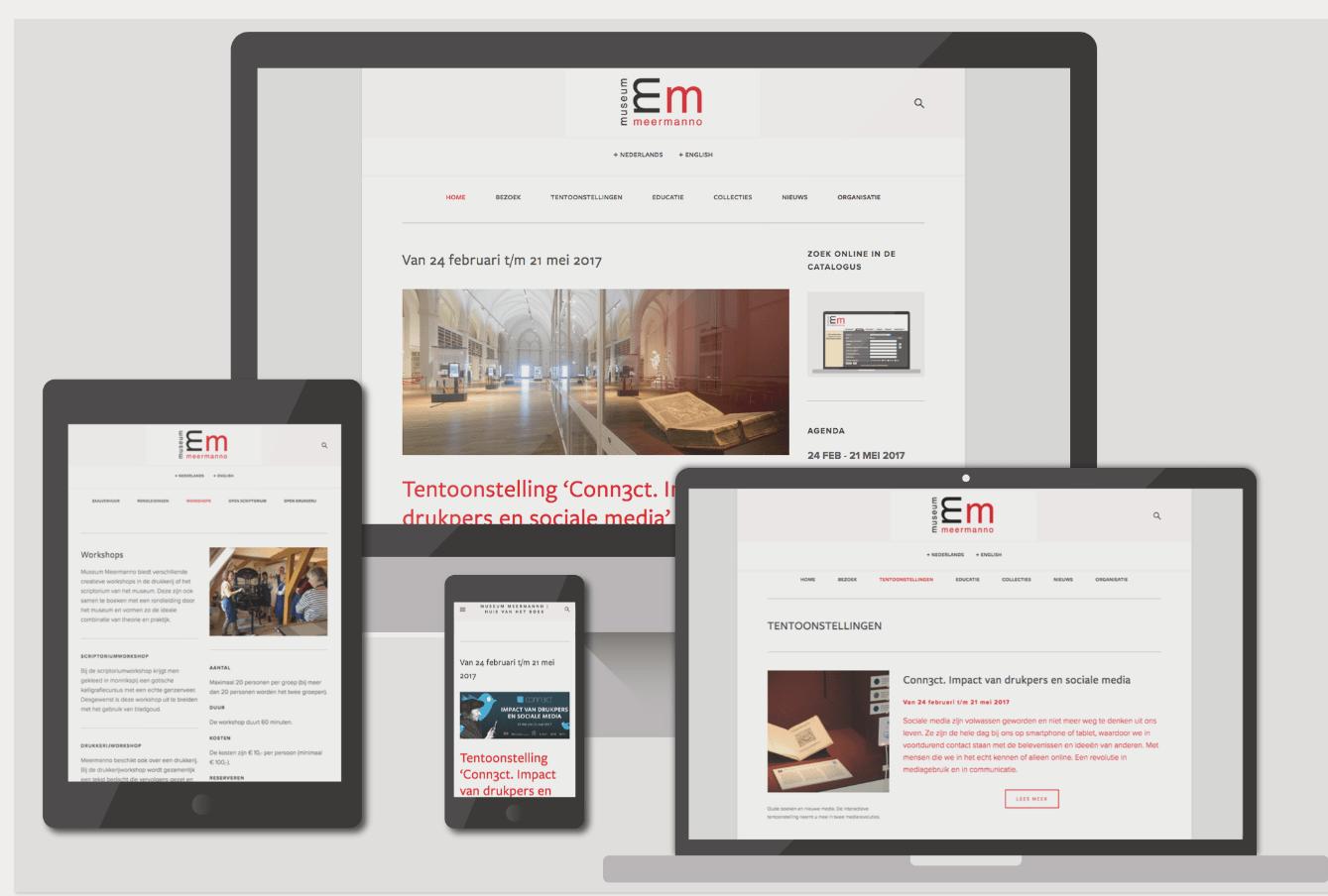website ontwerp Kirsten Langmuur