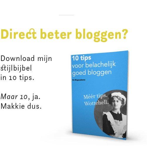 tips voor beter bloggen