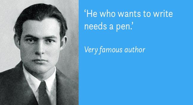 boek over schrijven zonder famous author quotes