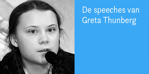 Greta Thunberg speeches
