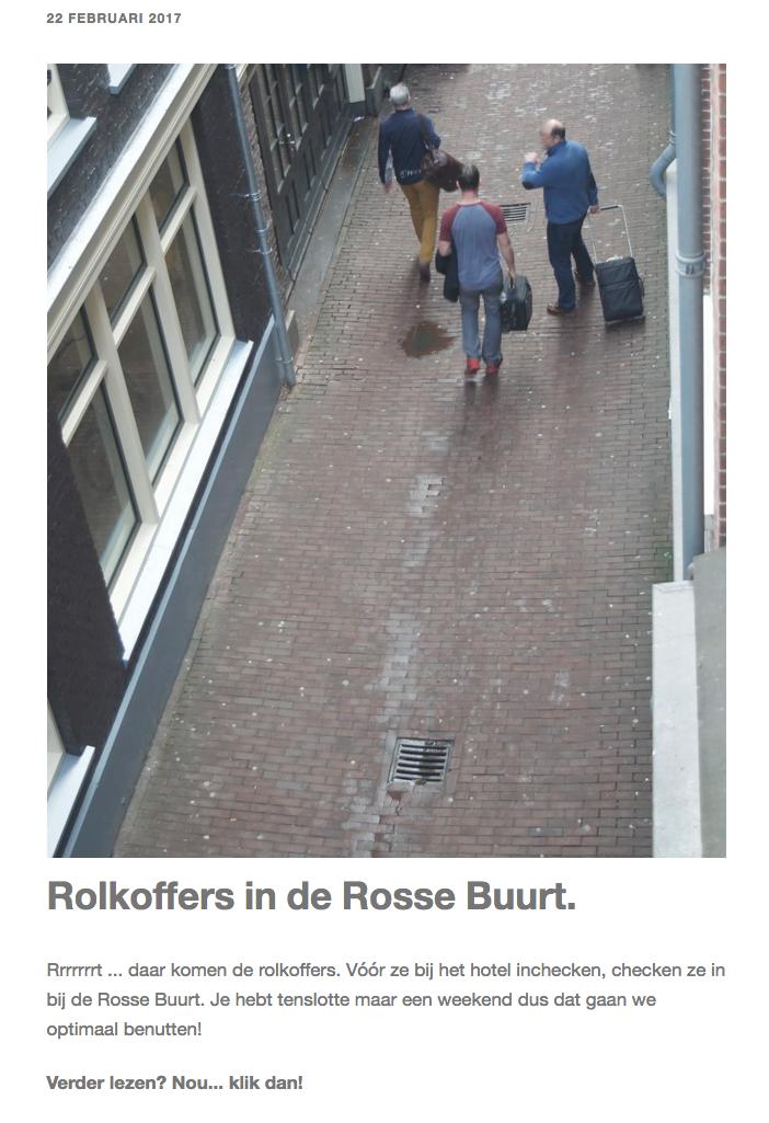 foto van de rosse buurt in Amsterdam als blogillustratie