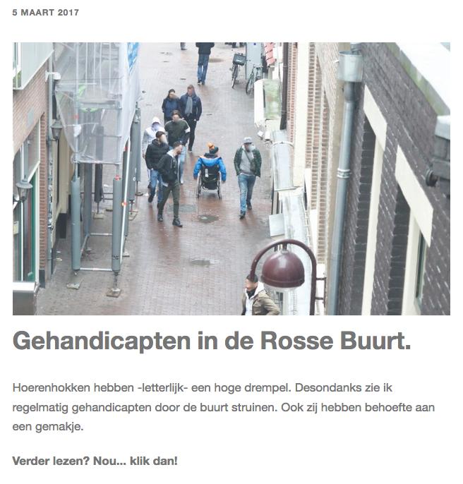 nog een foto van de rosse buurt in Amsterdam