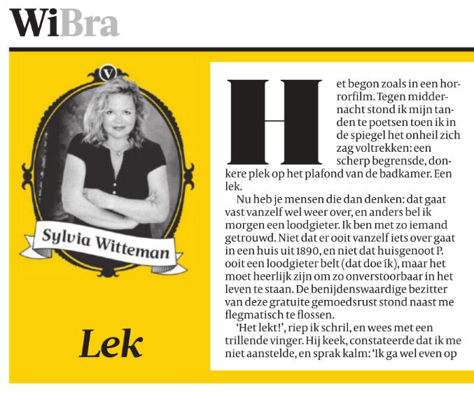 Sylvia Witteman: goed in woorden zoeken