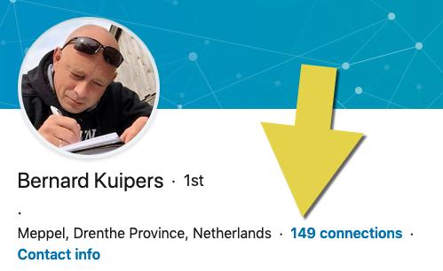 Bernard Kuipers op Linkedin