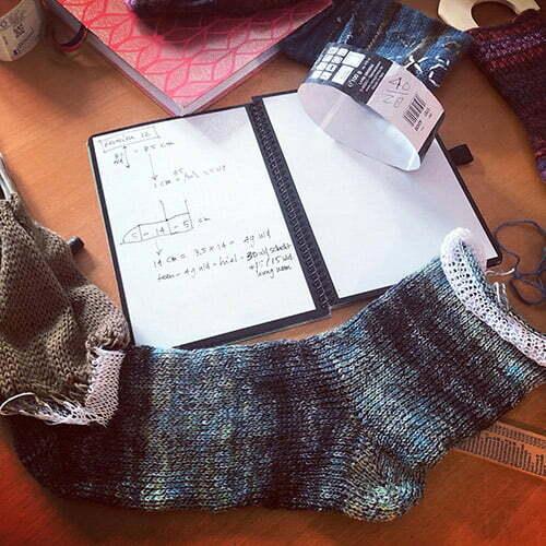sokkenpatroon sokkenbreimachine