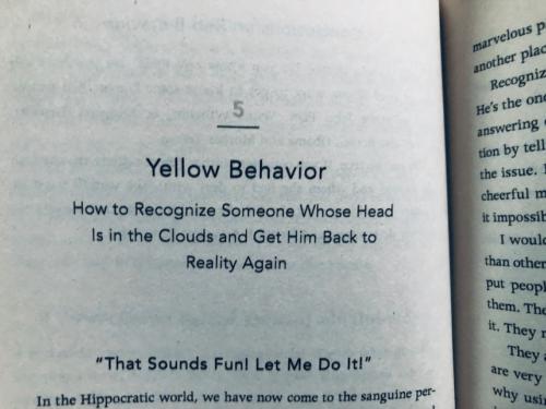stelling van een hoofdstuk