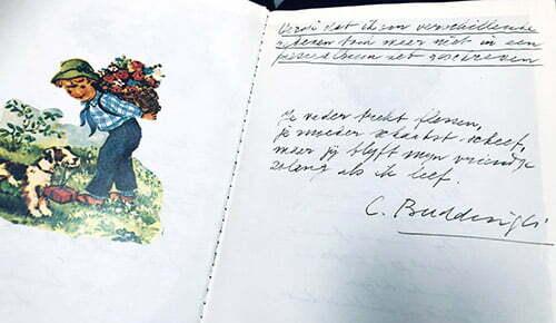 c. buddingh' gedicht poesiealbum