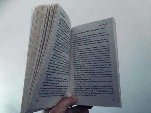 foto van bladzijden pocketboek