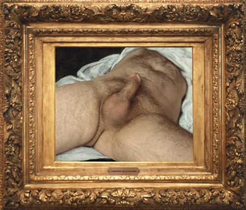 tegenhanger van lorigine du monde, Courbet